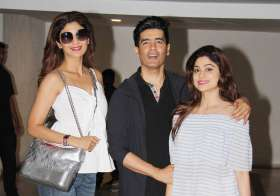 Shamita Shetty Shamita Shetty Manish Malhotra - India Tv
