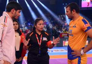 In Match 22 of the Pro Kabaddi League 2017 of Season 5, the