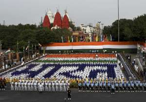 Rehearsal for the Independence Day celebrations