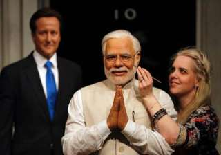 "PM Modi was closely involved in the creation of his figure and was delighted with the final results, declaring that the Madame Tussauds team are ""exceptional at what they do"""