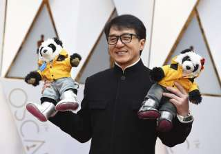 Hollywood star, Jackie Chan attended the 89th Academy Awards with two toy pandas in his hand. One of the two pandas were wearing a UNICEF tag. Notably, the actor is also a UNICEF goodwill ambassador since 2004.