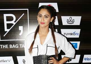 Krystle D'souza, is seen as Raina in TV show Brahmarakshas, but she looked all cool and sporty at the party.