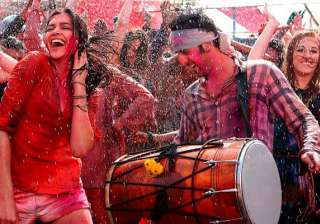 Balam Pichkari Yeh Jawani Hai Deewani How can any Holi playlist be complete without this popular song from 'Ye Jawani Hai Deewani' The magical chemistry between Deepika Padukone and Ranveer Singh in this groovy hit number gets us all mimicking the steps and singing along as loud as we can.