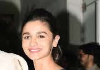 Alia Bhatt sported a black top and denims and looked pretty as always.