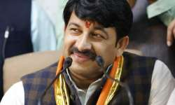File pic of Delhi BJP chief Manoj Tiwari - India Tv