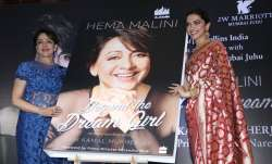 Deepika Padukone at Hema Malini's book Beyond the Dream