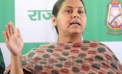 File pic of Misa Bharti