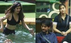 Bandagi Kalra and Shilpa Shinde in Bigg Boss 11 house