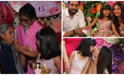 Aaradhya Bachchan's birthday pictures