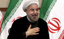 File pic of Iranian President Hassan Rouhani