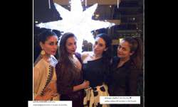 malaika arora pre christmas party
