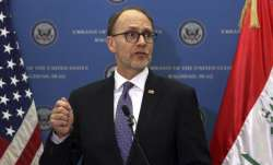 FILE - US Ambassador to Iraq Douglas Silliman