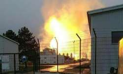 Explosion at major Austrian gas hub, one dead, several