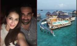 sagarika zaheer honeymoon maldives