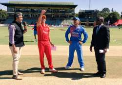 IND vs ZIM, 2nd T20: Zimbabwe win toss, elect to bat first