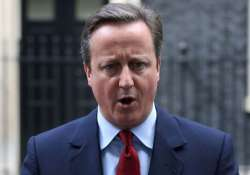 British Prime Minister David Cameron today chaired his last