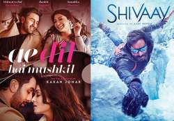 ADHM vs Shivaay - Here's the winner of the first weekend
