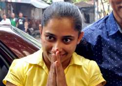 Gymnast Dipa Karmakar during a felicitation programme in