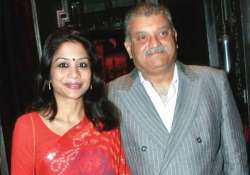 File pic of Indrani with her husband Peter