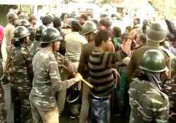 Tension erupted when two groups clashed as a procession was- India Tv