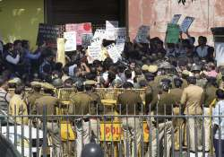Ramjas College, Students, Protest, ABVP