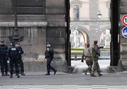 Soldier shoots suspected attacker at Louvre museum in