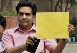 Kapil Mishra to meet CBI today, Assembly session likely to