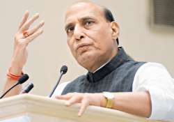 Need of 'unity for purpose' to tackle Naxals: Rajnath