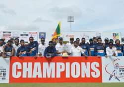 Zimbabwe's Tour of Sri Lanka