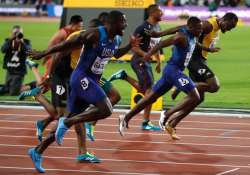 Usian bolt shocked by Justin Gatlin in faewell world