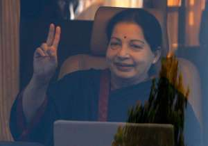 File pic of TN CM Jayalalithaa who passed away on Dec 5- India Tv