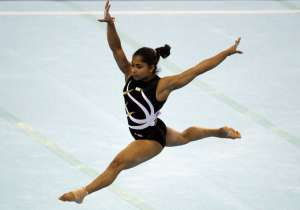 A file image of gymnast Dipa Karmakar.- India Tv
