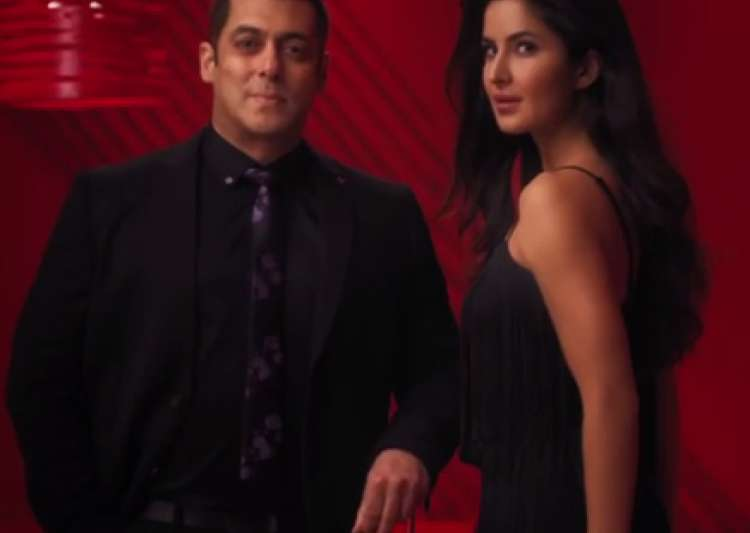 Katrina and Salman's few seconds chemistry will make you- India Tv