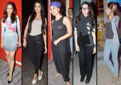 bollywood divas glittered at gori tere pyar mein special
