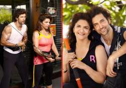 hrithik roshan sweats in gym with his mom pinky roshan view