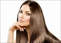getting shiny hair in summer is this easy