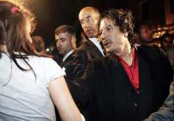 gaddafi s harem dictator forced thousands of girls to work