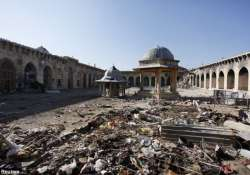five world heritage sites severely damaged in syria experts