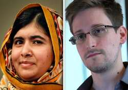 malala snowden nominated for european union prize