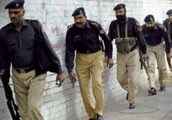 two policemen killed in pak suicide attack
