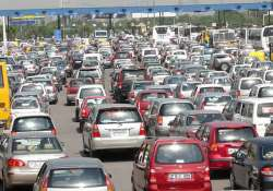 coin shortage leads to traffic jam at dnd flyway