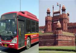 dtc to offer free ride to red fort to citizens on