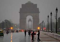 rain cools delhi nearby areas
