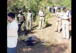 crpf personnel shot dead maoists possibly killed in