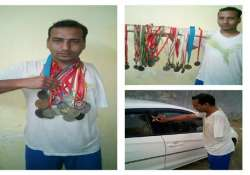 world champion para swimmer forced to wash cars to earn his