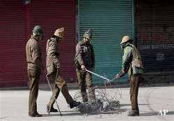 kashmir valley shutdown over mysterious death of student- India Tv