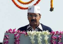 live arvind kejriwal s swearing in ceremony