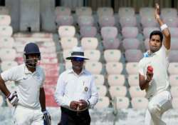 south zone restrict central to 237/7 in duleep trophy final