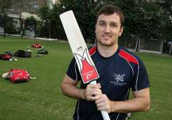 know james atkinson the captain of hongkong cricket team.