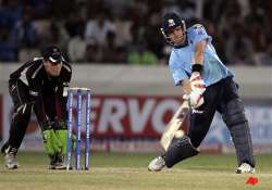 somerset beat auckland by four wickets